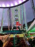 2017 suíços de Montreux do 24 de novembro - Ferris Wheel no mercado do Natal em Montreux, Suíça Fotografia de Stock Royalty Free