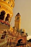 Sułtanu Abdul Samad Budynek Zdjęcie Stock