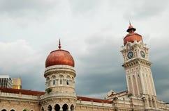 Sułtanu Abdul Samad budynek KL zdjęcia royalty free