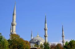 Sułtanu Ahmed meczet (Błękitny meczet) Obrazy Royalty Free