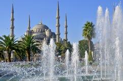 Sułtanu Ahmed meczet (Błękitny meczet) Zdjęcie Stock