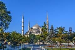 Sułtanu Ahmed meczet, Istanbuł, Turcja obraz royalty free