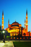 Sułtanu Ahmed meczet w Istanbuł (Błękitny meczet) Zdjęcie Stock
