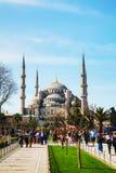 Sułtanu Ahmed meczet w Istanbuł (Błękitny meczet) Obrazy Royalty Free