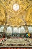 Sułtanu emira Ahmad historyczny skąpanie, Kashan Fotografia Stock