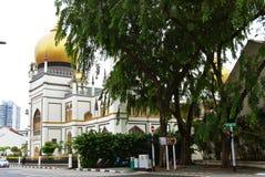 Sułtanu Masjid Meczetowy sułtan Singapur Obrazy Royalty Free