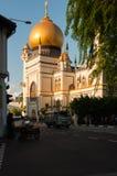 Sułtanu meczet na Północnej bridżowej drodze w Singapur Zdjęcia Stock