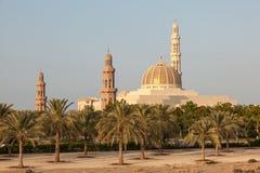 Sułtanu Qaboos Uroczysty meczet w muszkacie, Oman Obrazy Stock