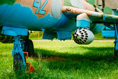 Su-17 советский боец крыла переменная-стреловидности Стоковые Изображения RF