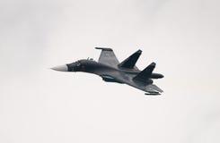 Su34战斗轰炸机 免版税图库摄影