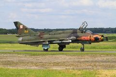 Su-22 fotografia de stock