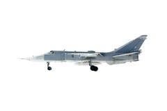 Su-24 Fencer. Military jet bomber Su-24 Fencer stock images