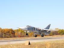 Su-24 schermer Stock Afbeelding