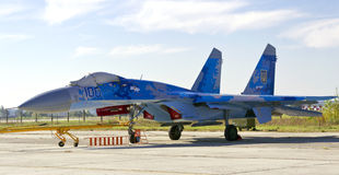 Su-27 Royalty Free Stock Photo