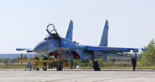 Su-27 Royalty Free Stock Photography