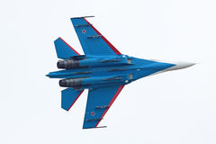 SU-27 fighter Stock Photos