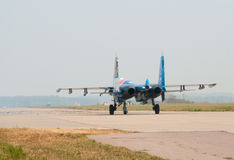 Su-27's (Russkie Vityazi) Royalty Free Stock Image