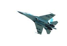 Su-27 straalvechter Stock Afbeelding