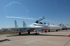 Su-30M2 Stock Photography