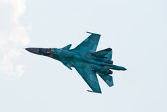 Su-34 fighter-bomber Royalty Free Stock Image