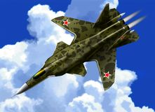 Su-47 Stock Images