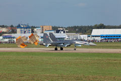 Su-35 Zdjęcia Stock