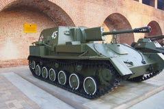SU-76 Fotografering för Bildbyråer