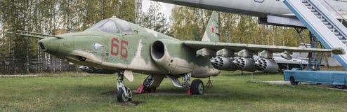 Su--25-Attackflygplan (1975) max hastighet km/h-950 Arkivfoto