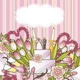 Su boda dulce Imágenes de archivo libres de regalías