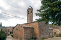 Su Church Lleida Catalonia Spain Royalty Free Stock Photography