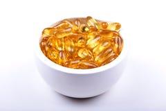 Su dosis diaria de la vitamina E Foto de archivo libre de regalías