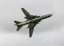 SU22 fighter Royalty Free Stock Images