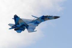 Su-27 Flanker Obrazy Stock