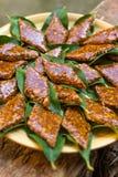 Su Gatou, sardinian dessert Stock Image