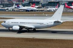 SU-GBH EgyptAir,波音737-566 免版税图库摄影