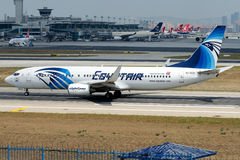 SU-GCO Egypt Air , Boeing 737-866 Royalty Free Stock Image