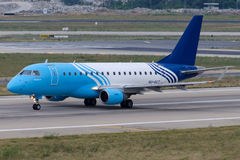 SU-GCT EgyptAir Embraer exprès 170-100LR Images stock
