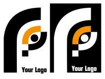 Su insignia de la compañía Foto de archivo