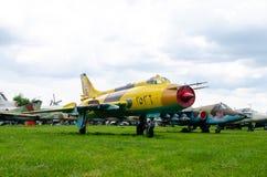 Su-20 instalatora bombowiec zdjęcie stock