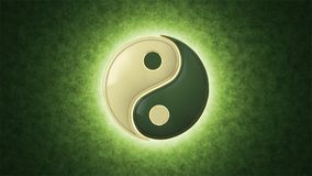 Su Jok. Yin Yang a mutual addition of two opposites. stock video