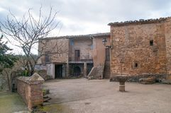 Su Church Lleida Catalonia Spain Royalty Free Stock Photo