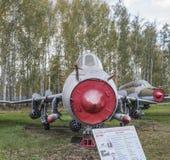 Su17M 3(1966),第一个苏联超音速易变的打扫翼 库存照片
