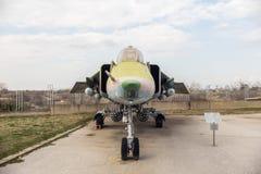 SU 22 M4 instalatora H myśliwiec odrzutowy Zdjęcia Stock