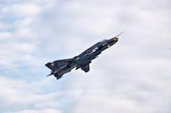 Su-22M4 polonês em Radom Airshow, Polônia imagem de stock royalty free