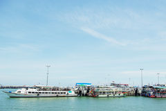 Su mejor mar de Tailandia Foto de archivo libre de regalías