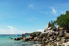 Su mejor mar de Tailandia Imágenes de archivo libres de regalías