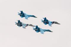Su-27 myśliwowie Obrazy Stock