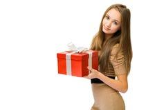 Su regalo. Fotos de archivo libres de regalías