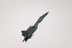 Su-35S jet fighter Stock Image