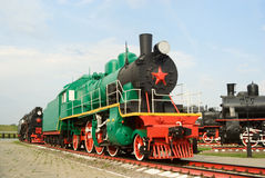 SU series steam engine Stock Image